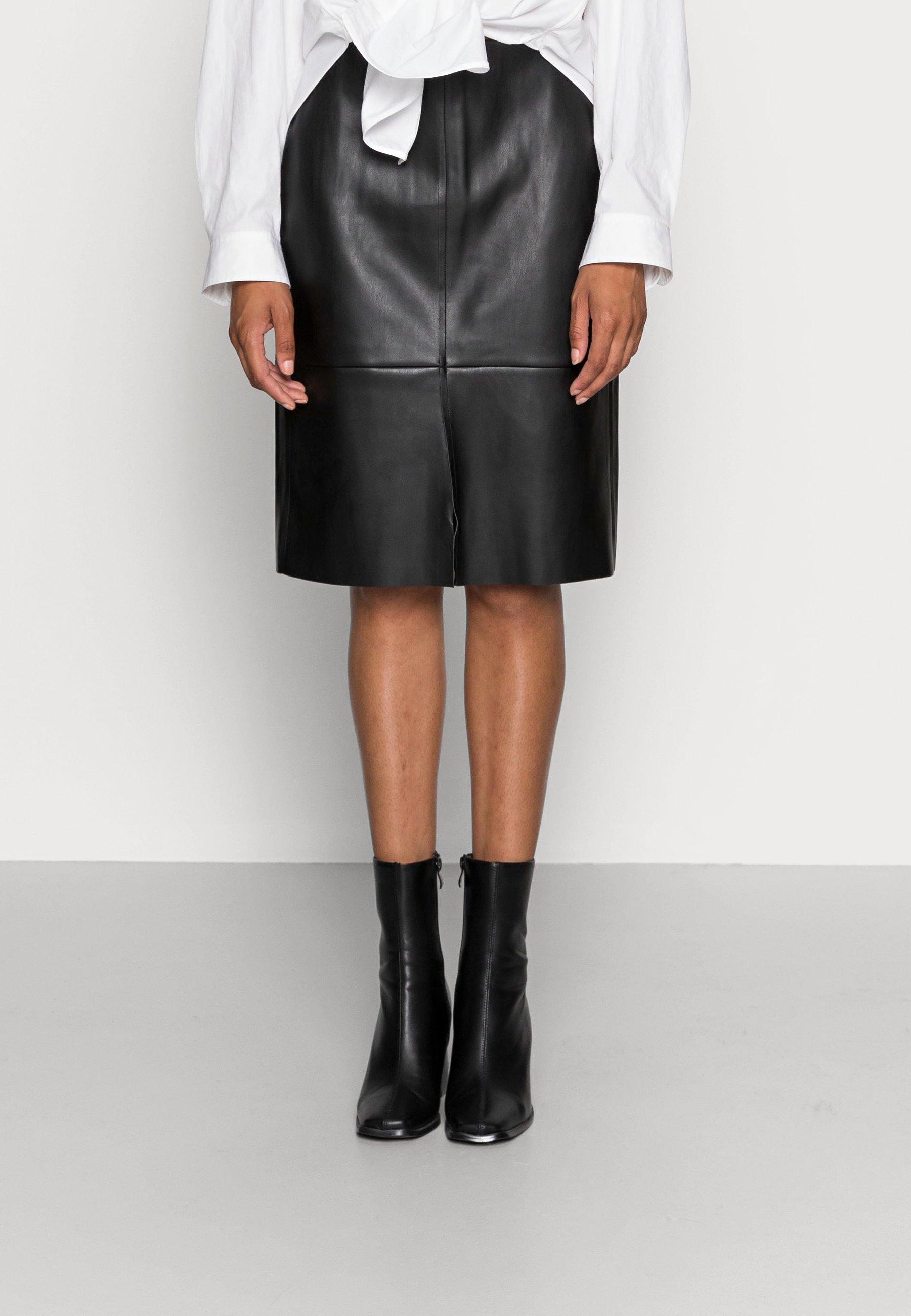 Femme SKIRT VICTORIA - Jupe en cuir