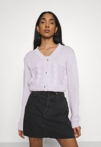 Cotton On - TWO BECOME ONE CARDI CAMI SET - Cardigan - lilac blossom - 0