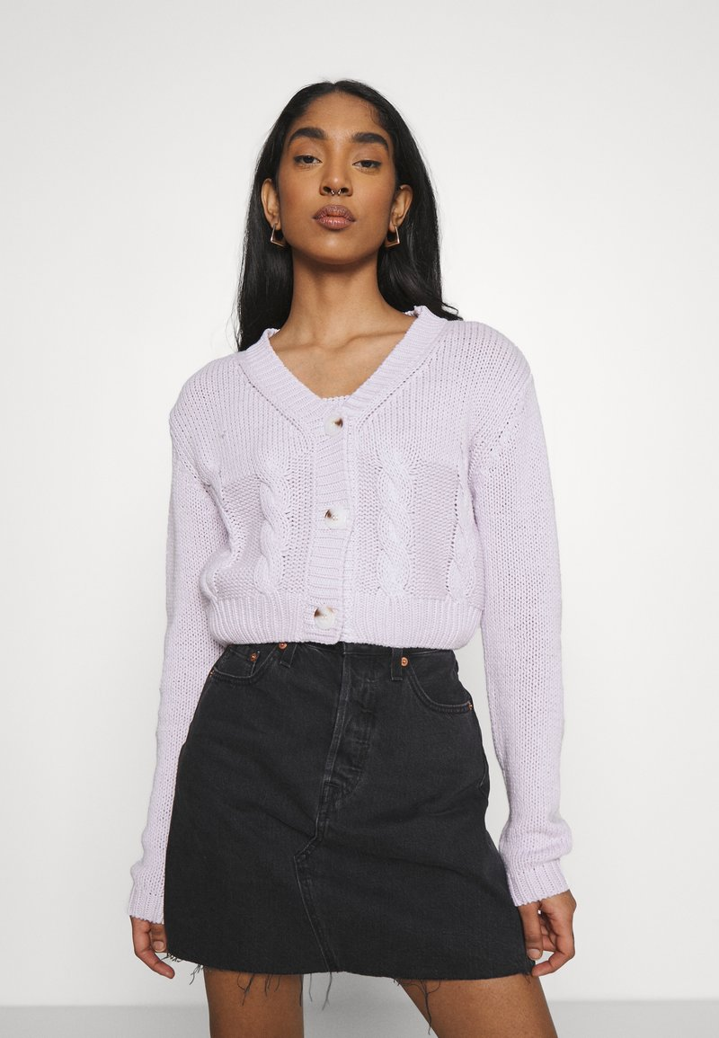 Cotton On - TWO BECOME ONE CARDI CAMI SET - Cardigan - lilac blossom