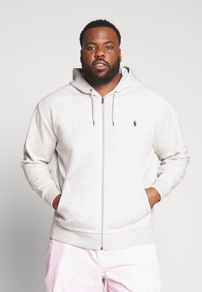 Polo Ralph Lauren Big & Tall - DOUBLE TECH HOOD - Zip-up hoodie - heather