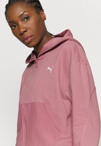 Puma - PAMELA REIF X PUMA COLLECTION FULL ZIP HOODIE - Sweatjacke - mesa rose - 3