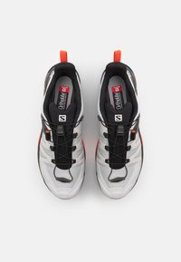 Salomon - X ULTRA 4 GTX - Hiking shoes - lunar rock/black/cherry tomato - 3