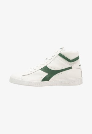 GAME WAXED - High-top trainers - white/fogliage