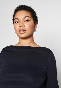 Lauren Ralph Lauren Woman - JUDY ELBOW SLEEVE - Print T-shirt - navy - 4