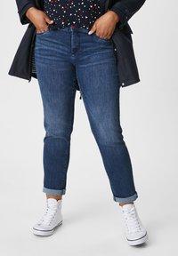 C&A - Slim fit jeans - jeans blau - 0