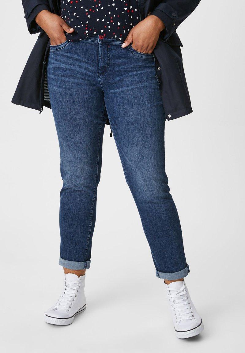 C&A - Slim fit jeans - jeans blau