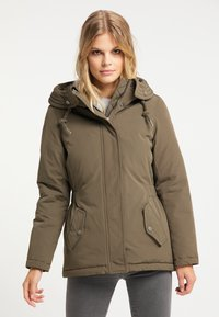 DreiMaster - Winter jacket - militär oliv - 0