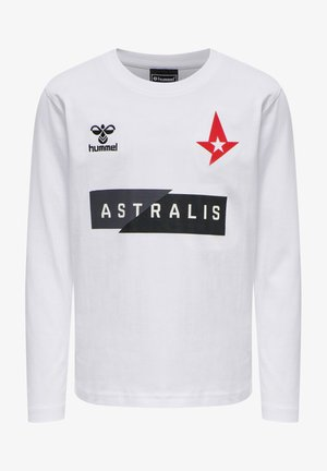 ASTRALIS - Long sleeved top - white