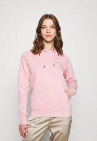 Nike Sportswear - HOODIE - Sweatshirt - pink glaze/white - 0