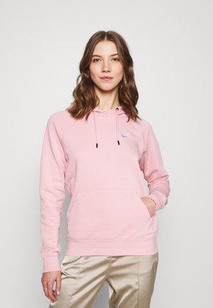 HOODIE - Felpa - pink glaze/white