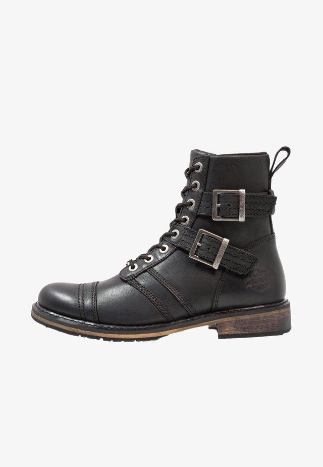 DREXEL - Cowboy/biker ankle boot - black