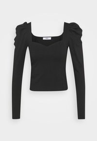 ONLY - ONLEMMA HEART - Long sleeved top - black - 4