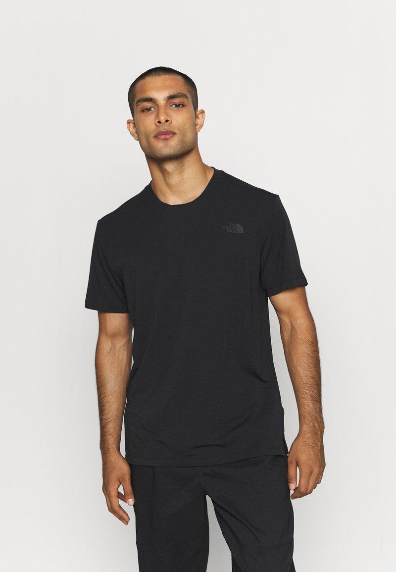 The North Face - WANDER - Jednoduché triko - black