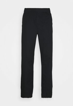 STANLEY TROUSERS - Tygbyxor - black
