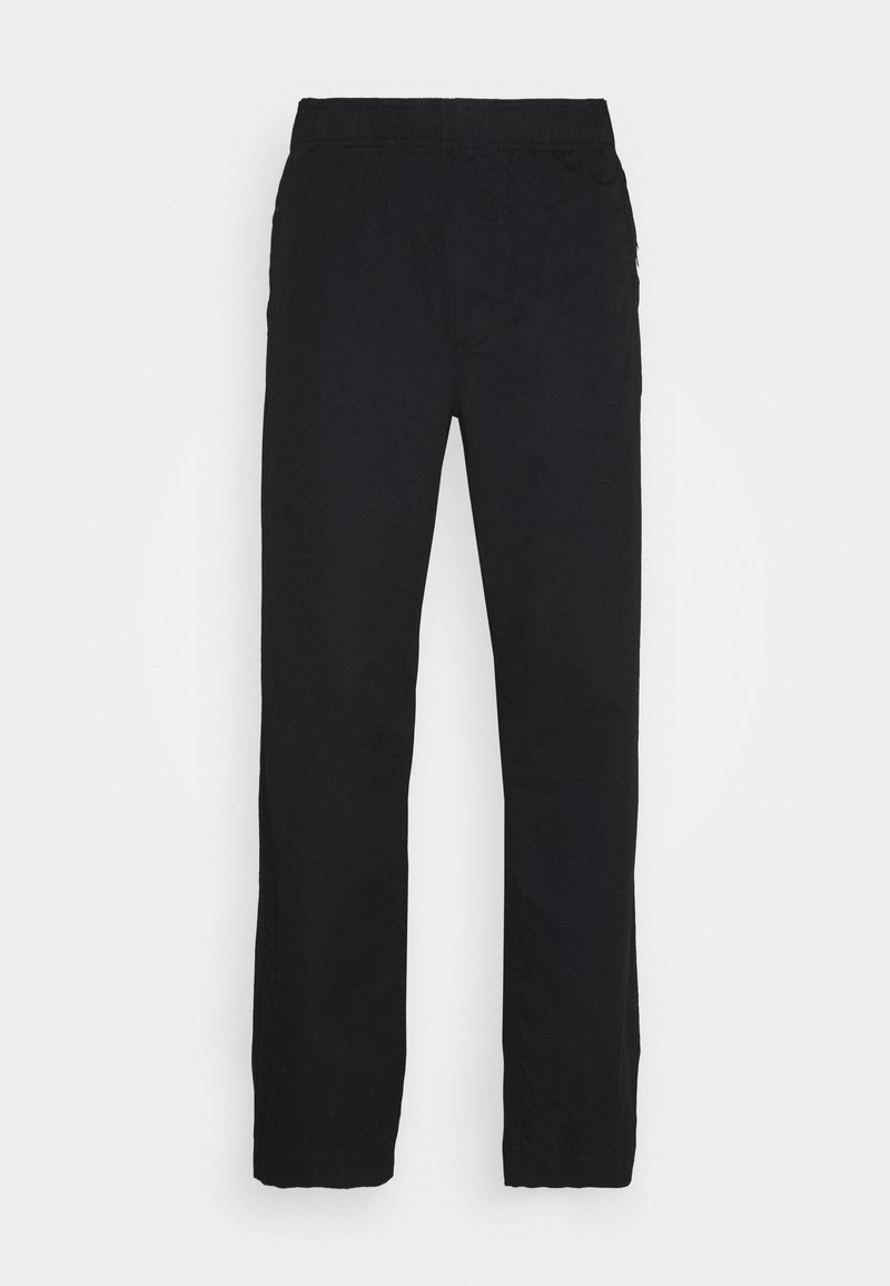 Wood Wood - STANLEY TROUSERS - Pantalon classique - black