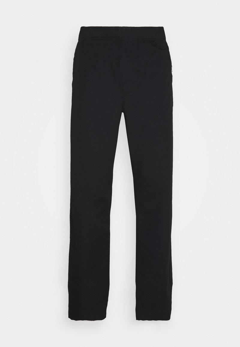 Wood Wood - STANLEY TROUSERS - Kalhoty - black