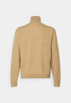 TNECK PIPING DETAILS - Sweter - beige