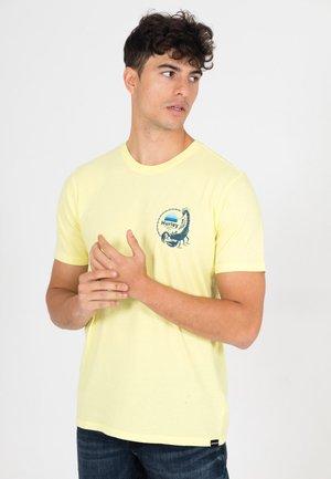 T-shirt print - lt zitron