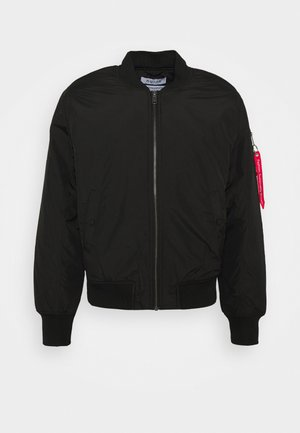UNISEX BOMBER - Light jacket - black