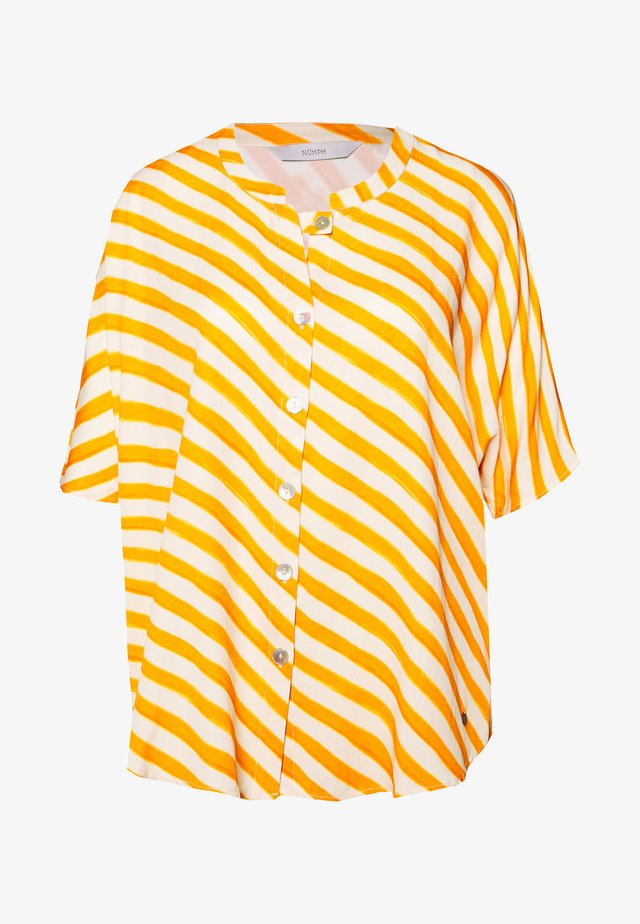 NUBRENDA BLOUSE - Blouse - yellow