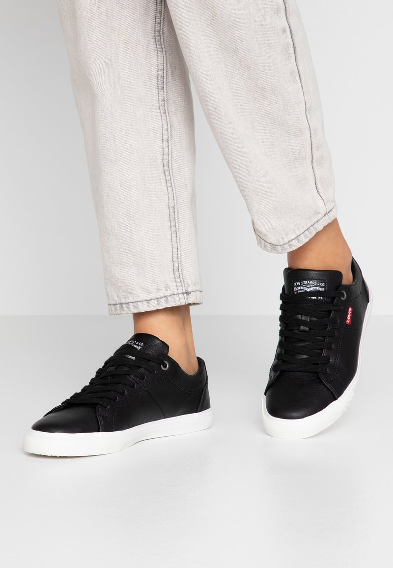 Levi's® - WOODS  - Trainers - regular black