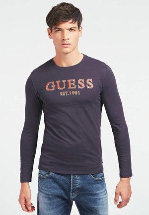 BRAKE - Long sleeved top - mehrfarbig, grundton blau
