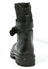 Inuovo - Cowboy- / bikerstøvlette - black blk - 4