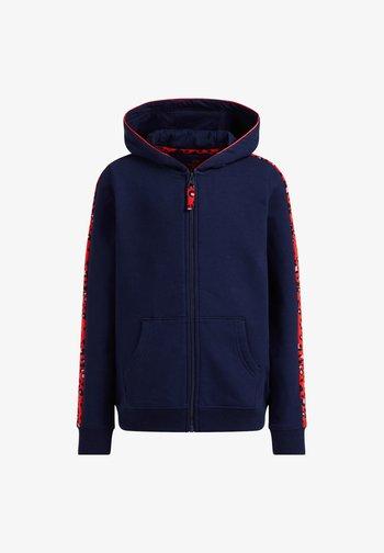 PANTERDESSIN - Zip-up sweatshirt - dark blue