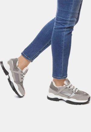 Trainers - gray/bronze