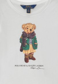 Polo Ralph Lauren - BEAR - Long sleeved top - white