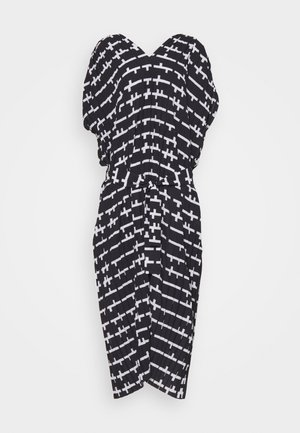 JELLY DRESS - Sukienka letnia - black and white matches