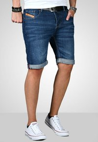 Maurelio Modriano - Denim shorts - dunkelblau - 2