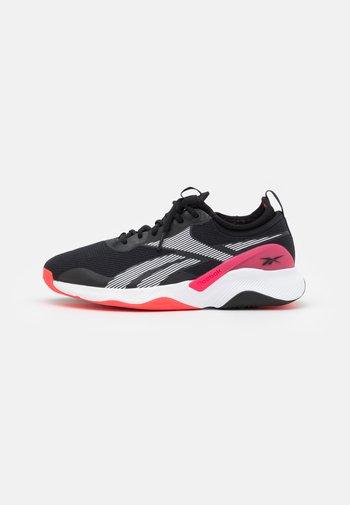 HIIT TR 2.0 - Scarpe da fitness - core black/neon cherry/footwear white