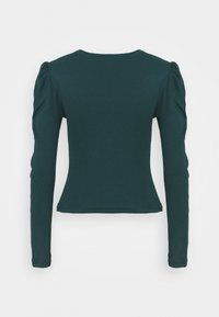 JDY - JDYCEREN PUFF SLEEVE - Long sleeved top - ponderosa pine - 1