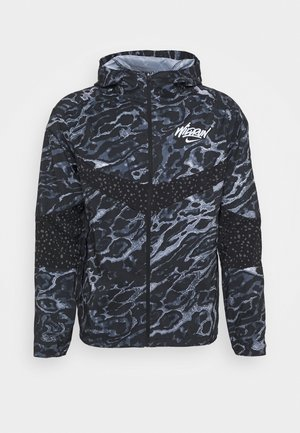WINDRUNNER - Sports jacket - black/reflective silver