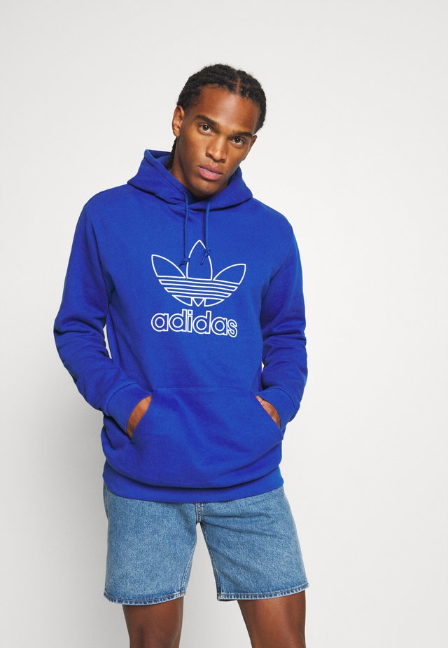 HOOD OUT - Jersey con capucha - royal blue