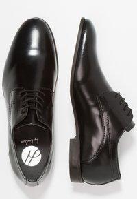 H by Hudson - CRAIGAVON - Business sko - black - 1