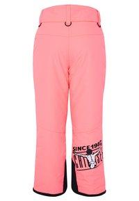 Chiemsee - Snow pants - neon pink - 1