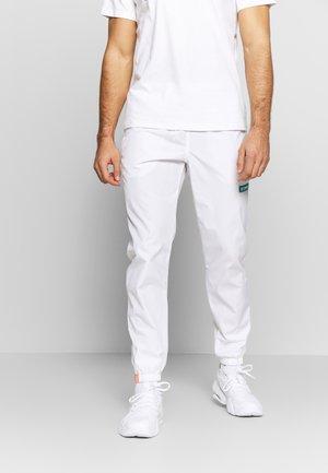 SANTA ANA WIND PANT - Pantalons outdoor - white
