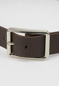Pier One - LEATHER - Belt - dark brown - 4