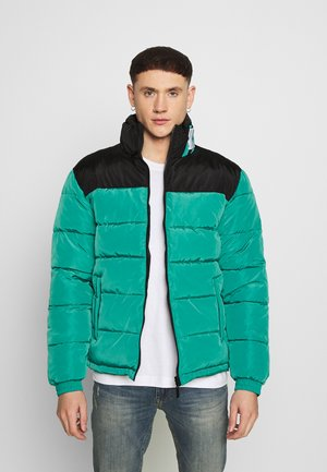 BLOCK REVERSIBLE PUFFER JACKET - Winterjas - turquoise
