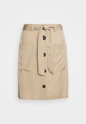 A-snit nederdel/ A-formede nederdele - beige/sand