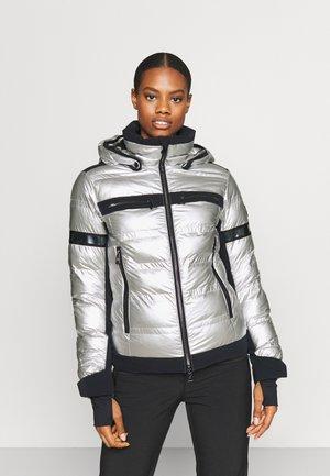 YOKO METALLIC - Ski jas - silver