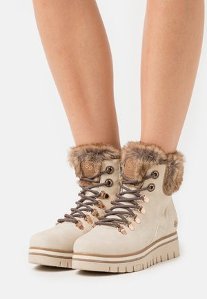 Ankle boots - natur/multicolor