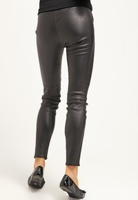 MICHAEL Michael Kors - Leather trousers - black - 2