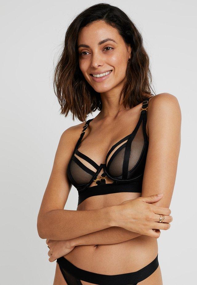 ALINA PLUNGE - Underwired bra - black
