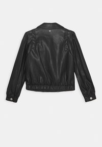 Guess - JUNIOR JACKET - Giacca in similpelle - jet black - 1