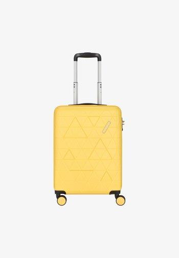 Wheeled suitcase - honey yellow