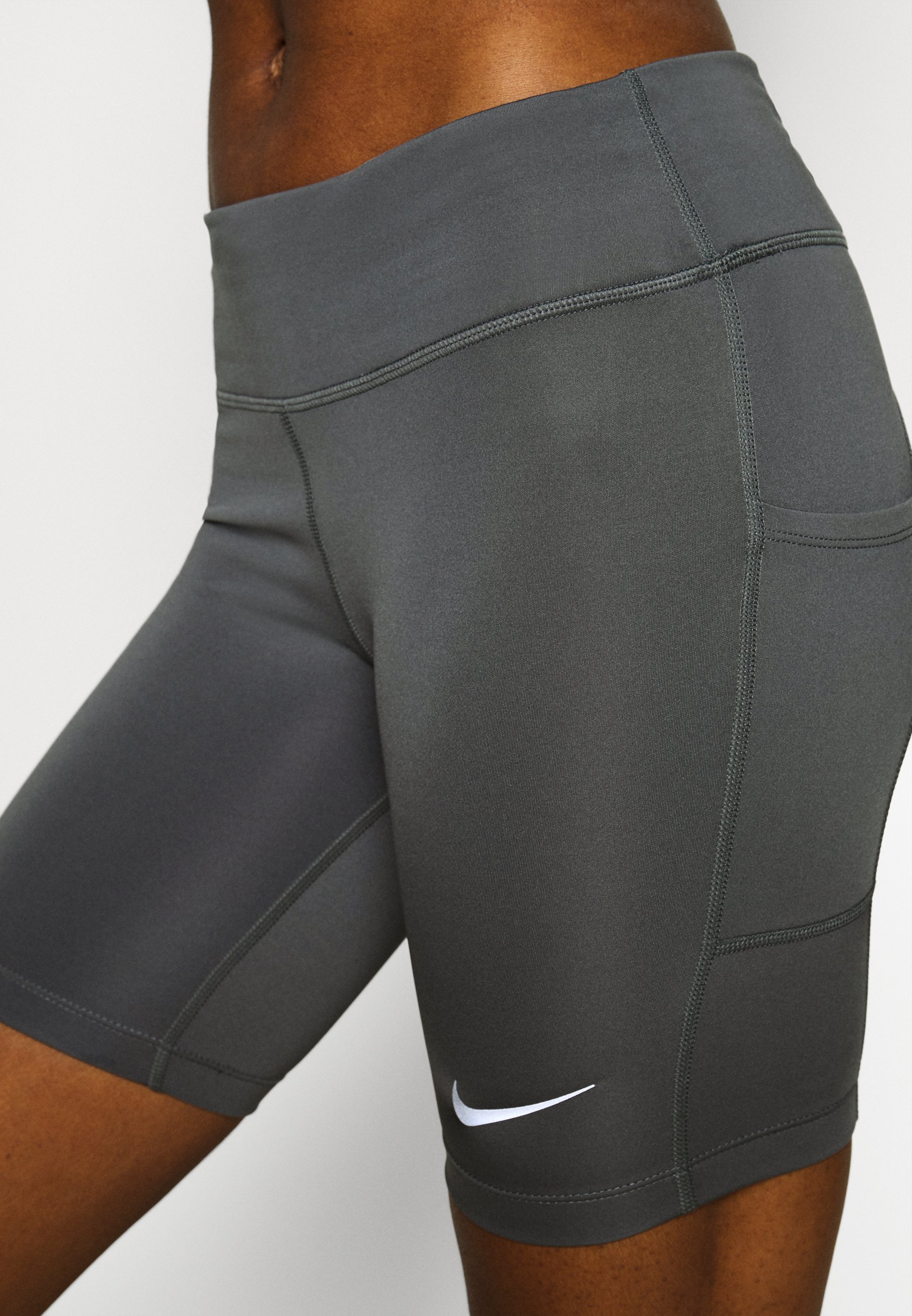 Nike Performance FAST  - Leggings - iron grey/reflective silver L5jwR