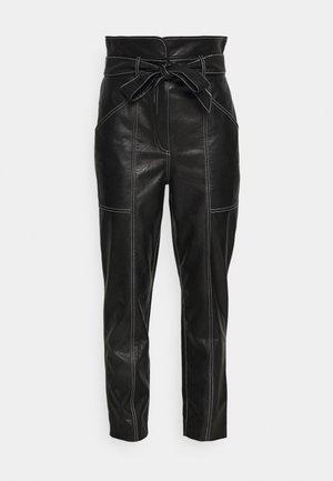 PANTALONE IN TESSUTO - Spodnie materiałowe - nero